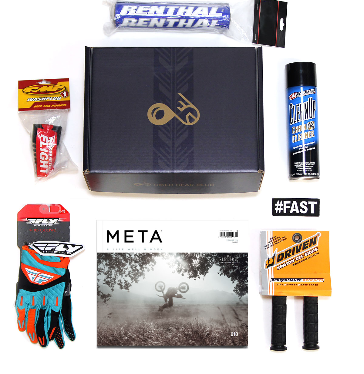 Motocross Monthly Subscription Box