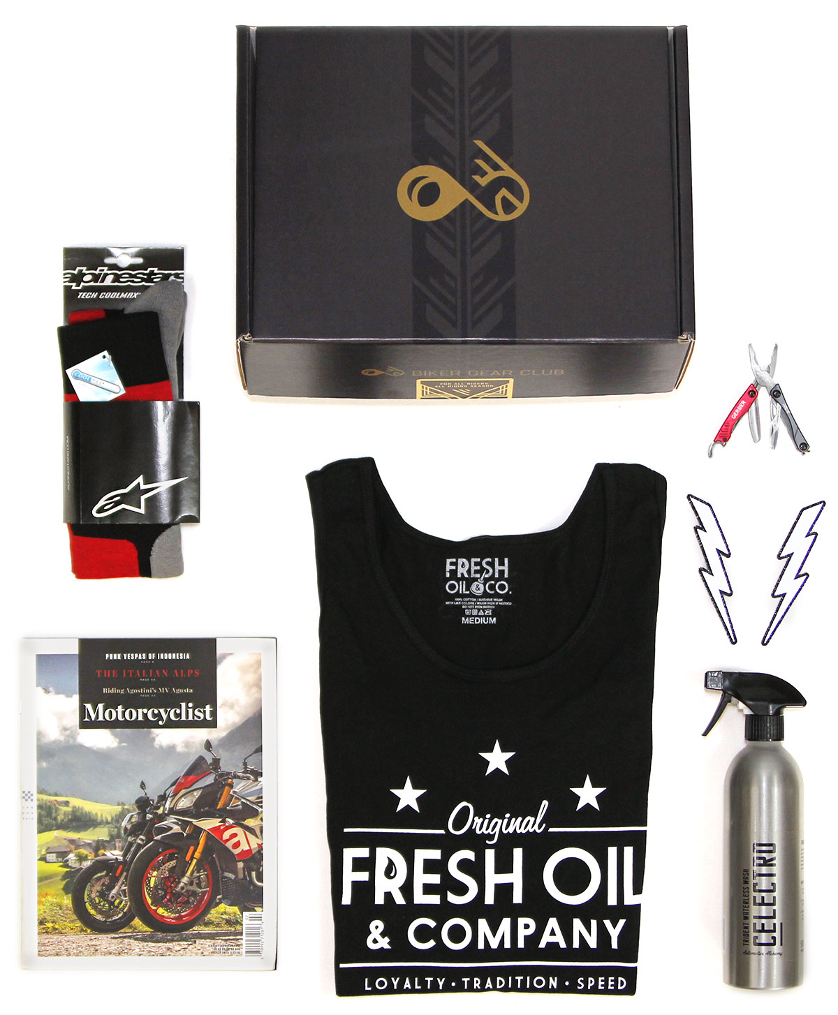 Sport Rider Monthly Subscription Box