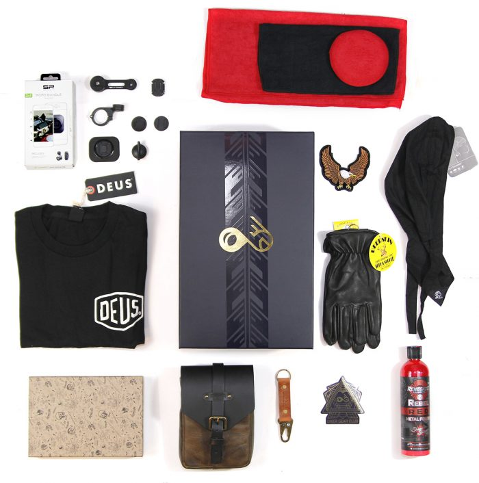Standard Motorcycle Subscription Box Quarterly