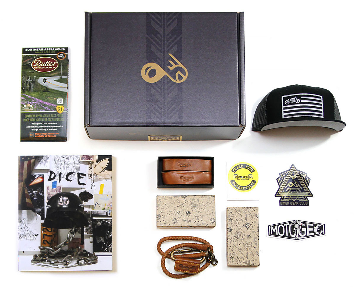 Cafe Racer Vintage Style Monthly Subscription Box