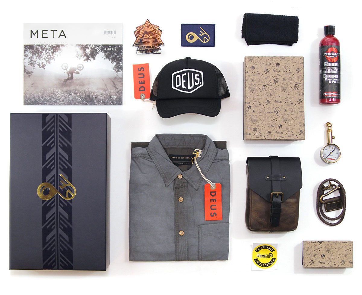 Cafe Racer Vintage Style Quarterly Subscription Box